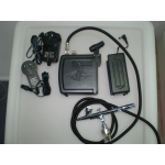 Battery / Mains Mini COMPRESOR AND AIRBRUSH