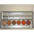 PALTPA6W2 Warm Tones Wet/Dry EYESHADOWS
