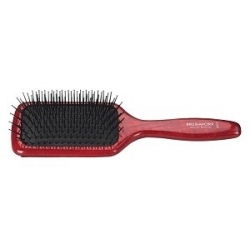Hair Brush BRUSHWORX cu-2 Natural Wood-grain Paddle Brush